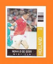 Holland Ronald De Boer Ajax